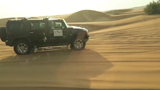 Dubai - Desert Safari tour and show, Sean Garnier Freestyle special guest