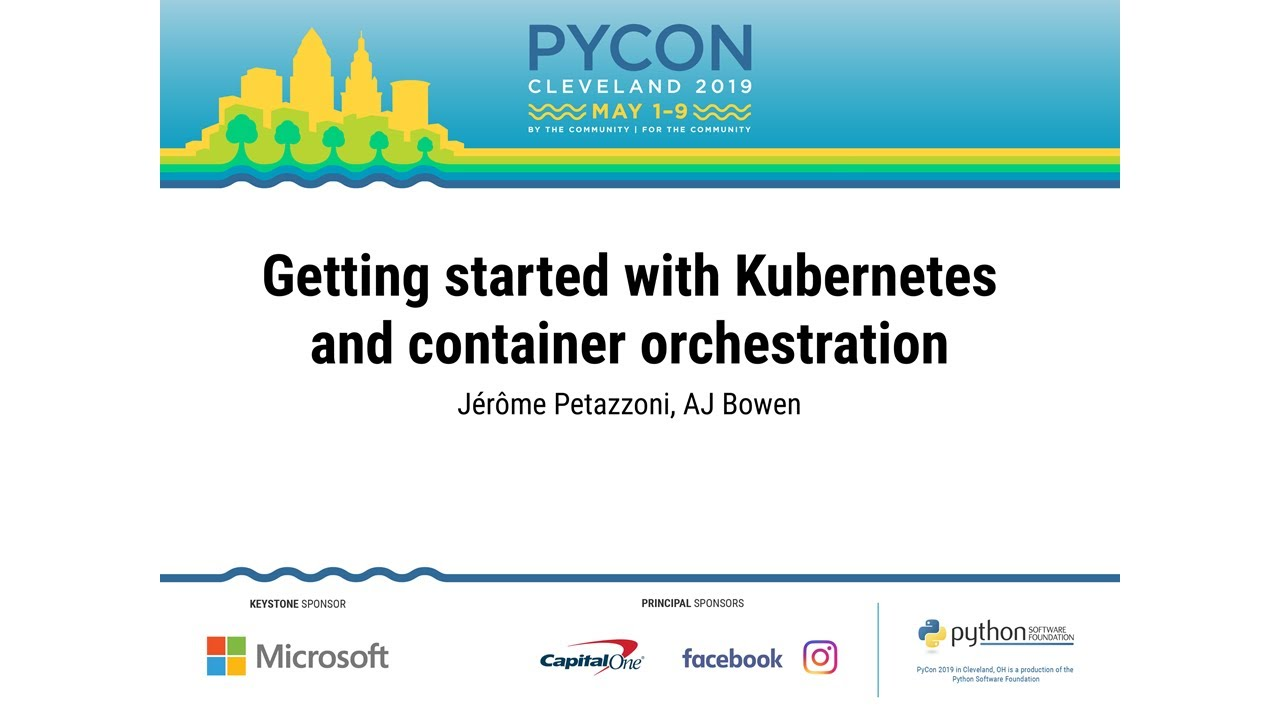 Image from Getting started with Kubernetes and container orchestration