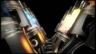 AGCO SISU DIESEL V12 ENGINE Animation