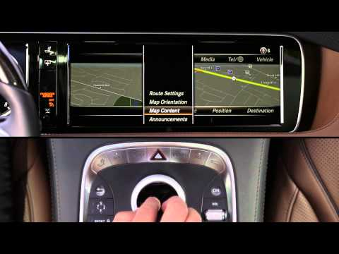 2014 S-Class Navigation Maps -- Mercedes-Benz USA Owners Support