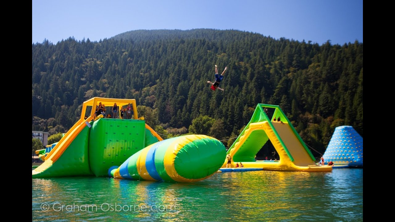 Harrison Hot Springs Water Park Inflatable