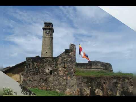 VOC Galle Dutch Fort, South Coast, Sri Lanka (A World Heritage Site)