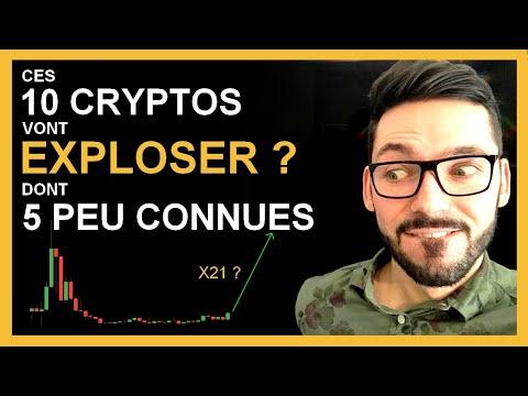 Crypto Monnaie Pas Chere Qui N'ont Pas (encore) Explosées ? TOP 10 Crypto Monnaie Prometteuse 2021