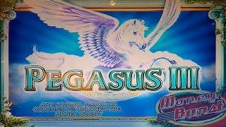 Pegasus III Slot - $6 Max Bet - BIG WIN & Bonus!