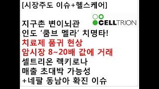 [시장주도 이슈+헬스케어]지구촌 변이뇌관인도'쿰브 멜…