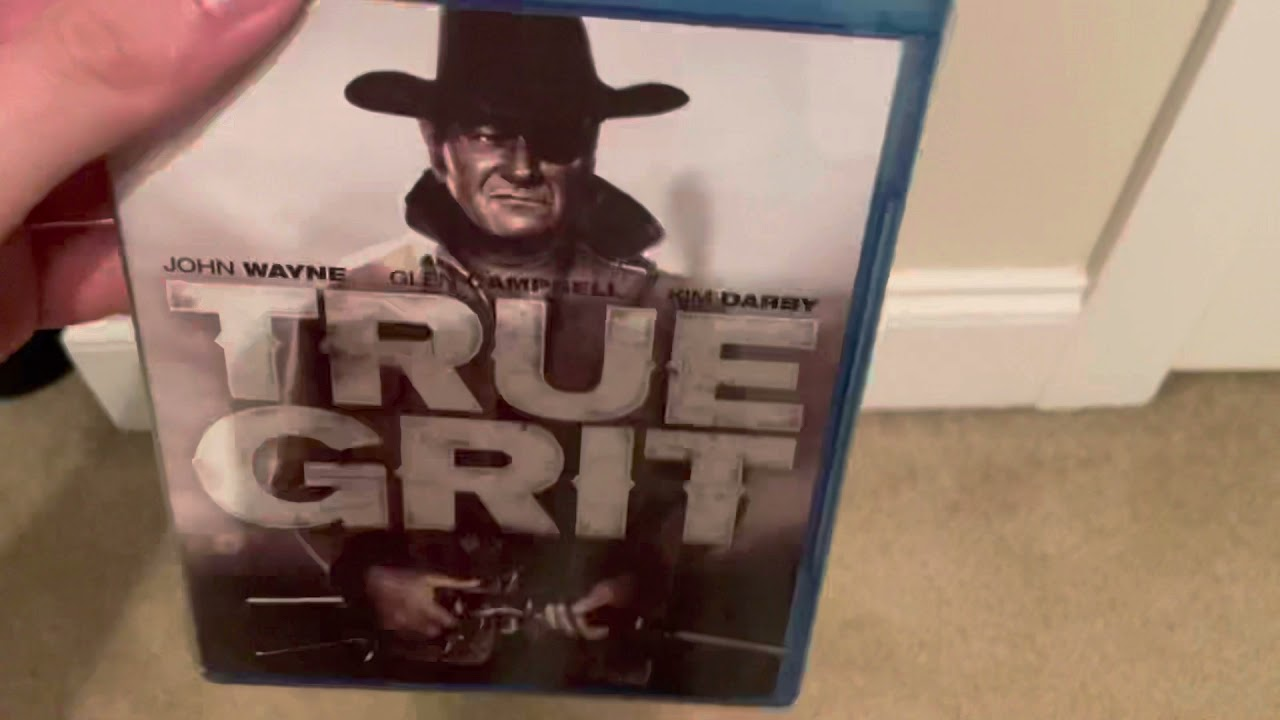 Download True Grit (1969) Blu-ray unboxing