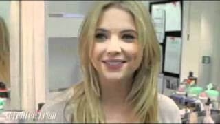 Ashley Benson Takes You on a Tour of the Pretty Little Liars' Wardrobe and Makeup Trailers!