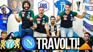 TRAVOLTI!!! ZURIGO 1-3 NAPOLI | LIVE REACTION NAPOLETANI HD