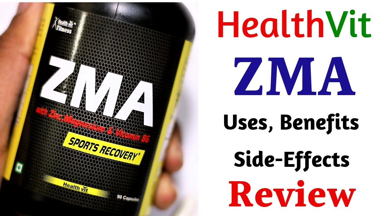 ZMA Benefits for Bodybuilding | Healthvit ZMA Review | Uses, Side Effects