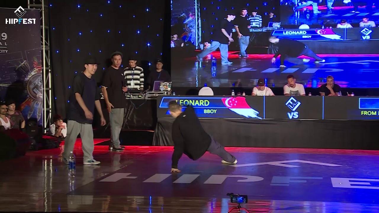 Leonard vs Panda | top 4 | Hipfest 2019