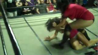Jezabel vs Jennifer Thomas - Pro Style Match
