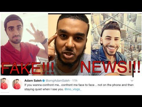 Adam Saleh and Mo Vlogs Drama Explained ( Exposed Prank )