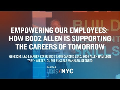 Empowering Our Employees: How Booz Allen Is Supporting The Careers Of Tomorrow | Degreed LENS