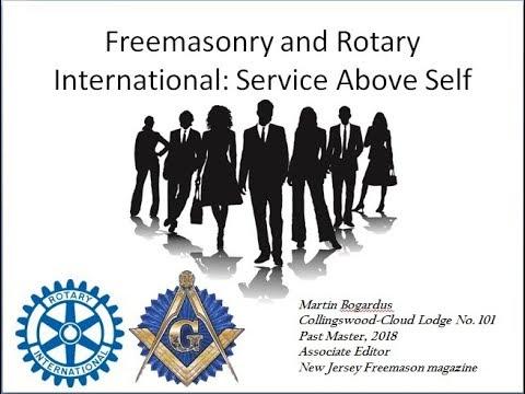 Freemasonry And Rotary Club: Service Above Self