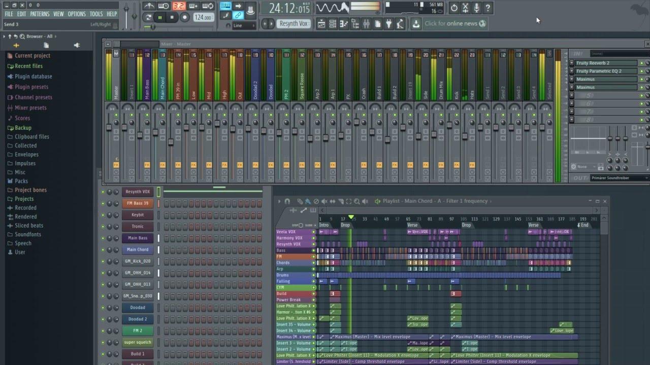 FL Studio 12.5.1 Crack Reg Key 2018 Producer Edition Latest