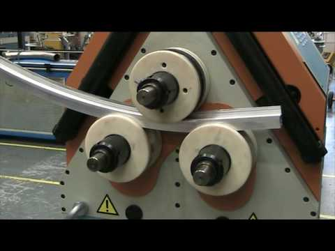 Baileigh Industrial R H85 Roll Bender Youtube