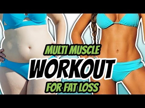 Fat Burning Exercise Combos Workout That Works (YOU'VE NEVER TRIED IT)