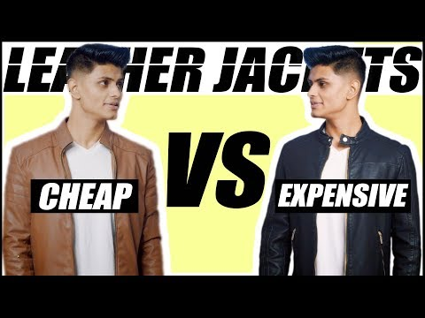 Cheap VS Expensive LEATHER JACKETS   Man's Guide to Buying the BEST Jacket   Mayank Bhattacharya