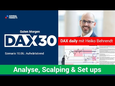 DAX aktuell: Analyse, Trading-Ideen & Scalping | DAX30 | CFD Trading | DAX Analyse | 10.06.2020