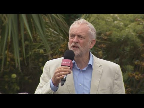 Corbyn slams Kensington and Chelsea council in rally speech