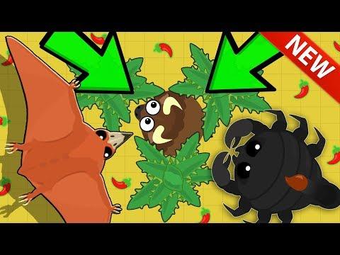 Mope.io DESERT CACTUS TRAP TROLL ON UNLUCKY ANIMAL! NEW KING DRAGON UPDATE + ALL DESERT ANIMALS