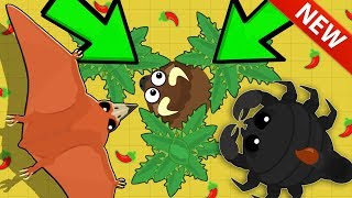 Mope.io DESERT CACTUS TRAP TROLL ON UNLUCKY ANIMAL! NEW KING DRAGON UPDATE + ALL DESERT ANIMALS