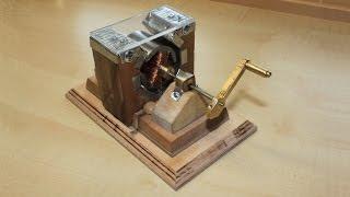 Gleichstrom Generator selbstbau