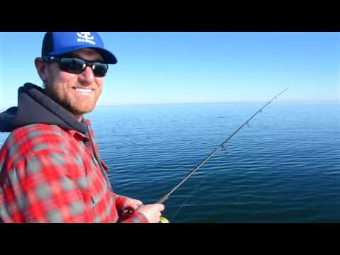 Late Fall Blade Baits On Lake Mille Lacs For Giant Smallmouth Bass