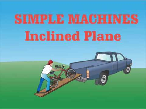 simple machines inclined plane ramp inclined plane simple machine1 inclined