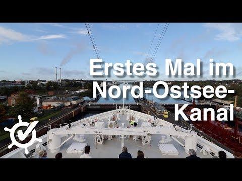 Erstes Mal im Nord-Ostsee-Kanal - Vlog #4 - Europa 2 (Hapag-Lloyd Cruises, 2017)