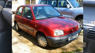 23 Year Old Nissan Micra K11, Not Used for 3 Years, Review & How We Got it Running