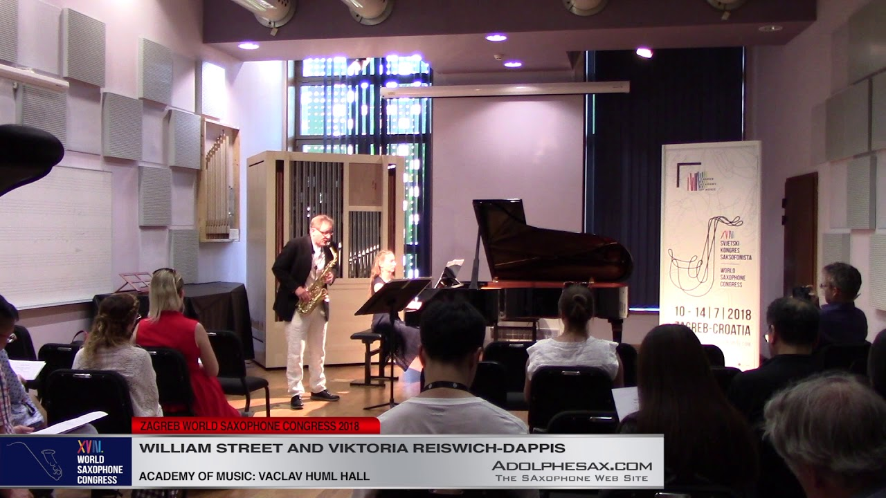 Nekrotzar´s Answer   William Street & Viktoria Reiswich Dappis   XVIII World Sax Congress 2018 #adol