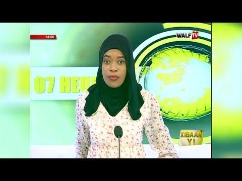 Xibaar Yi 14H du 08 jan. 2019 sur WalfTV - WALFTV