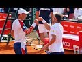 Most INTENSE Tennis Doubles Match Ever (60FPS)