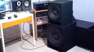 Master Audio lsn15 & Master Audio lsn12 Bass test