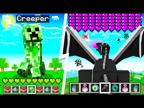 Morphing into EVERY Mob in MINECRAFT!