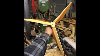 How To Make Whirligig Or Model Wind Generator Propellers