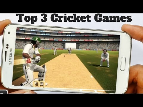 Top 3 Best Free Cricket Games 2017 | Free HD Cricket Games For Android 2017