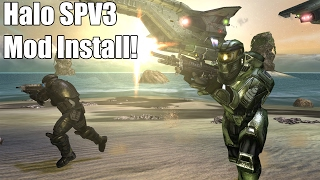 How to Install Halo CE SPV3 on PC!