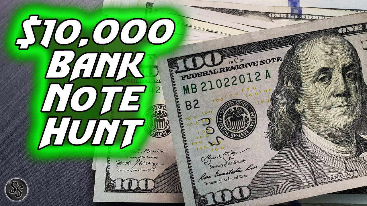 Searching $10,000 in $100 Bills for Star Notes and More!