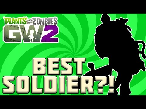Most Underrated Foot Soldier?! Plants vs Zombies Garden Warfare 2