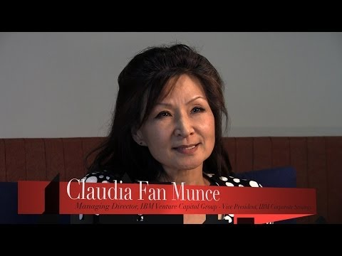 Claudia Fan Munce - Advisor - VP Strategy, Managing Director, VC Group at IBM