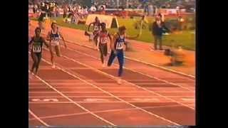 Ashford vs Drechsler 200m 1986