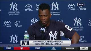 Andrew McCutchen makes his New York Yankees debut