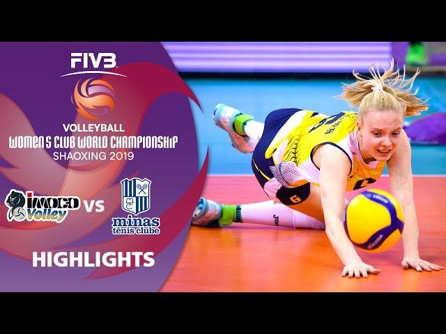 Imoco vs. Minas - Highlights | Women's Volleyball Club World Champs 2019