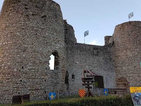 CALL medievale château lastours