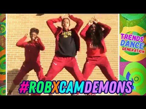 Demons Challenge 🔥 Instagram Best Dance Compilation 🖤 #robxcamdemons