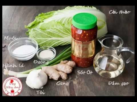 Cách làm kim chi cải thảo kiểu Việt Nam cho những người sành ăn