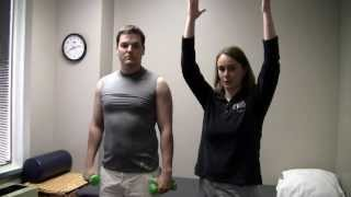 Physical Therapy Rotator Cuff Exercises Stage One