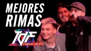 Las MEJORES RIMAS de TITANES DEL FREESTYLE 2019 - ¡INCREÍBLE! | Batallas De Gallos (Freestyle Rap)